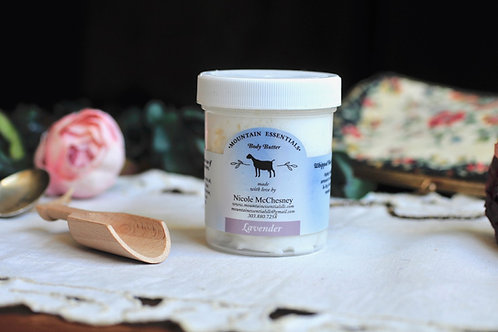 Lavender-Whipped Body butter