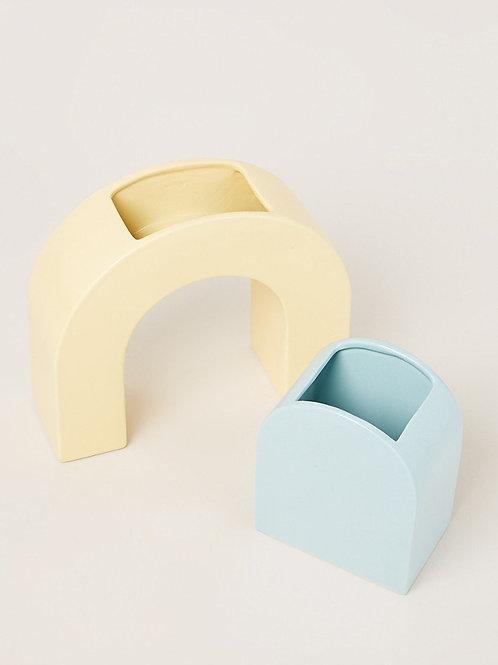 &Klevering vase bow set 2