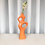 Thumbnail: funky orange vase