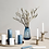 Thumbnail: Broste CPH candle holder S marble/nickel