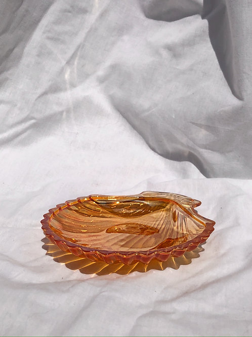 glass catchall shell
