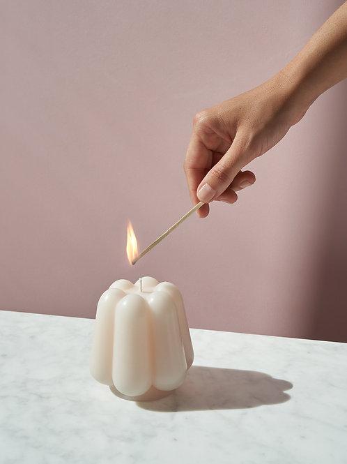 OCTAEVO Templo candle - Ivory