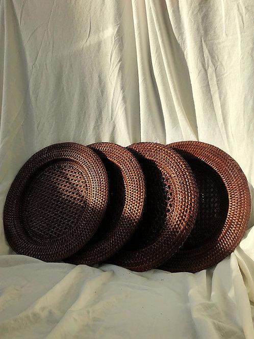 bottom plates - set of 4