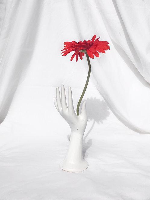 ceramic hand vase