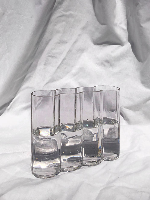 glass bubble vase