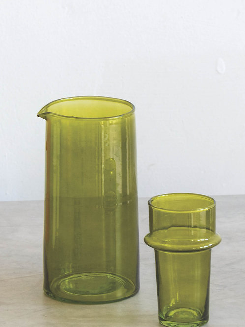 UNC carafe recycled glass