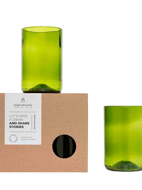 Original Home wine bottle glass (2 pcs)