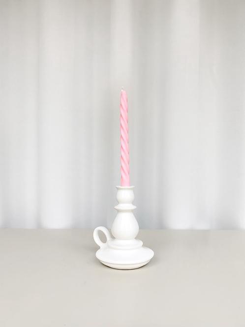 ceramic candleholder