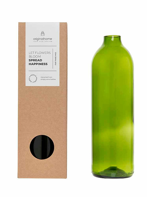 Original Home recycled bottle vase