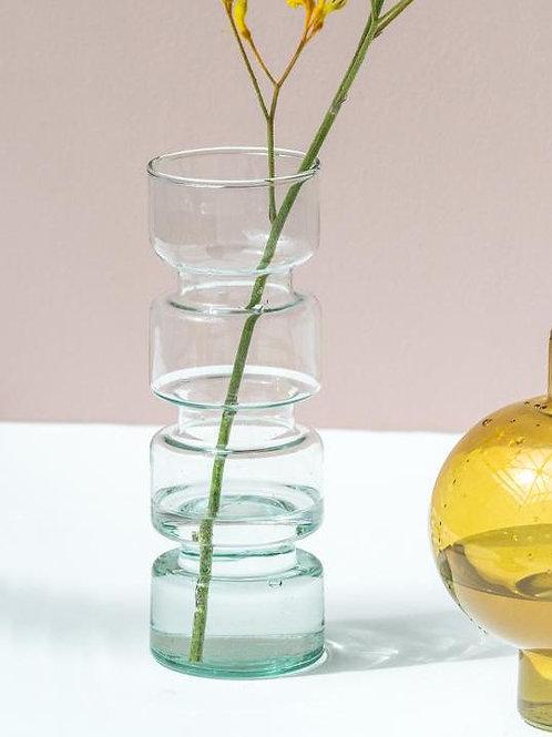 UNC vase Paloma recycled glass