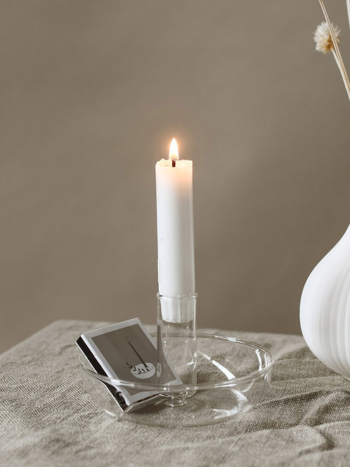 SF - Skensta glass candleholder
