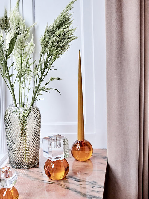 Crystal color crush single amber