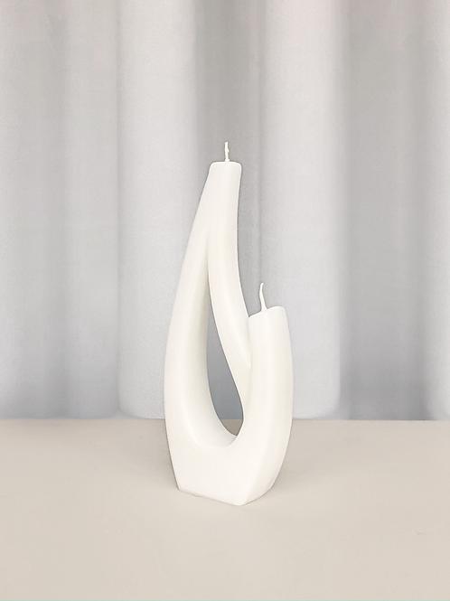 sculptural candle