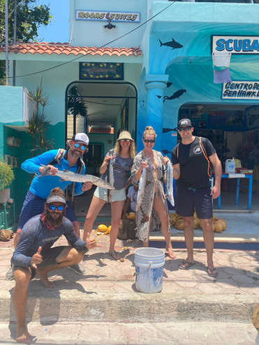 Fishing and Snorkeling Day Isla Mujeres