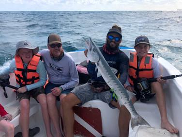 Fishing family trips Sea Hawk Isla Mujeres