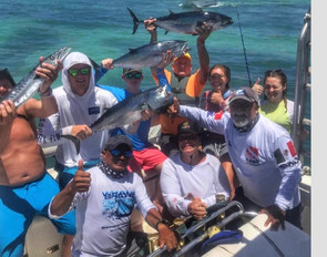 Fishing Isla Mujeres with the best.