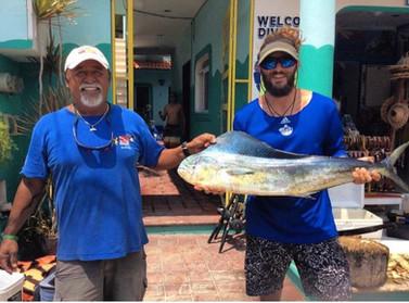 Dorado, Mahi-Mahi catch on fishing tour