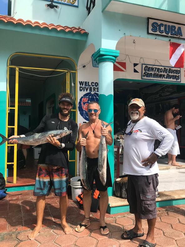 Fishing with Sea Hawk Divers