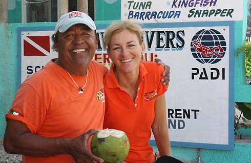 Bonnie & Ariel Sea Hawk Divers Isla Mujeres