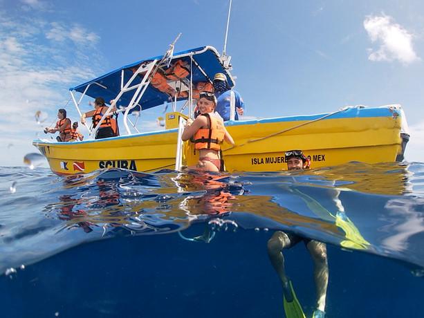 Snorkeling Isla Mujeres