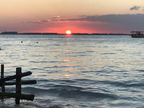 Sunset time on Isla