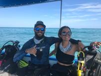 Manu and Leira Diving