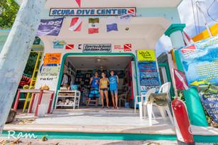 Sea Hawk Divers dive shop Isla Mujeres Mexico