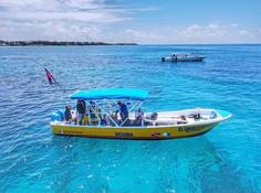 Sea Hawk boat diving