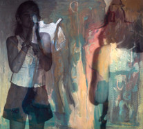 Obra de Susana Bianchini, com interferência de Juliana Hoffmann
