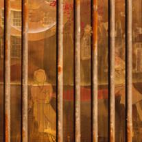 Obra de Juliana Hoffmann, com interferência de Philippe Arruda