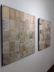"""Vista da exposição """"Exprimível do Vazio"""" de Juliana Hoffman"""
