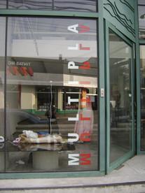 Vista da fachada da Galeria Múltipla