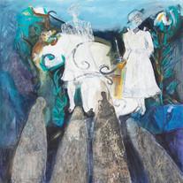Obra de Susana Bianchini, com interferência de Dirce Körbes