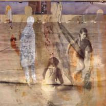 Obra de Dirce Körbes, com interferência de Juliana Hoffmann