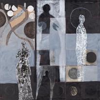 Obra de Dirce Körbes, com interferência de Carlos Asp