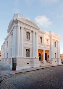 Fachada do Museu da Escola Catarinense