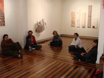Conversa com artistas