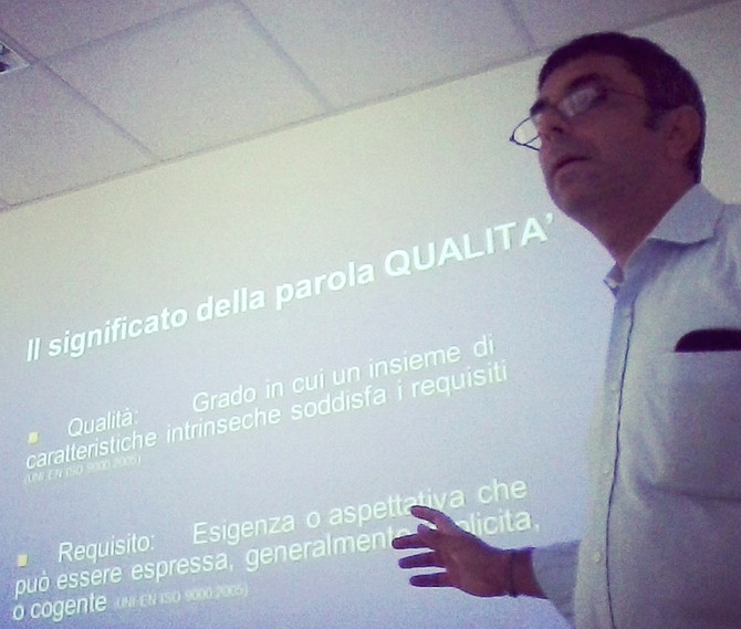 Progetto ISO 9001 per Italchimica