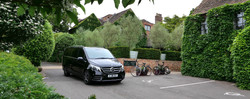 Our Mercedes V Class at The Old Bridge H
