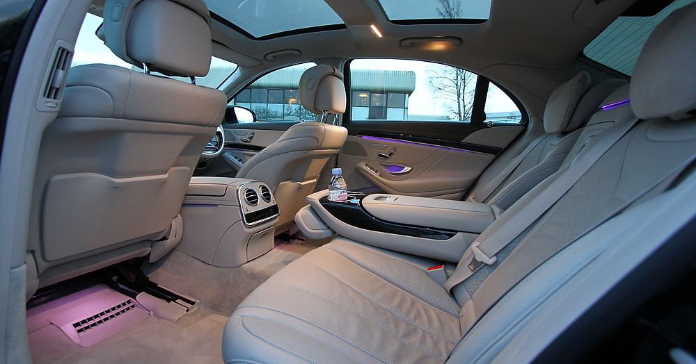 The rear cabin of our new S Class