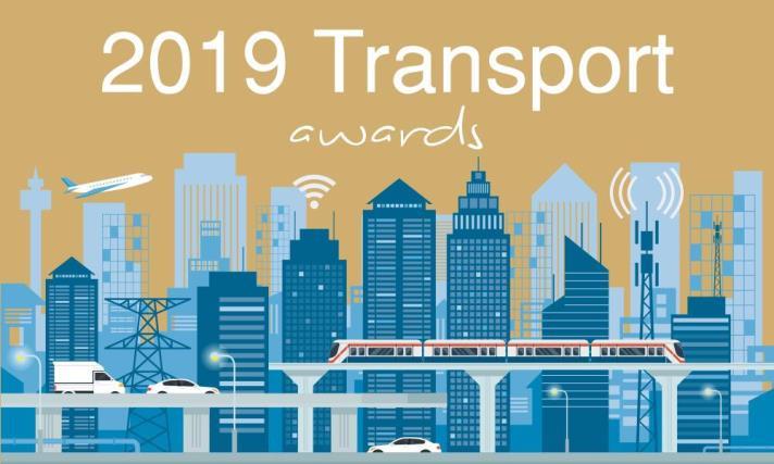 SME News 2019 Transport Awards logo