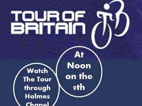 Tour of Britain on Thursday!