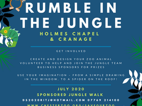 There's a . . . Rumble . . . in the Jungle!