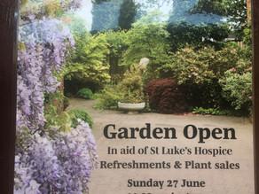 Open Garden for St Luke's Hospice