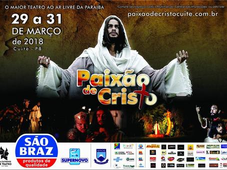 CARTAZ OFICIAL DA PAIXÃO DE CRISTO 2018