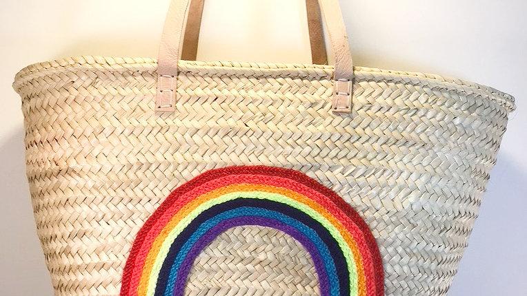 Rainbow Weave Bag