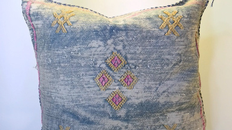 Cactus Silk Pillow