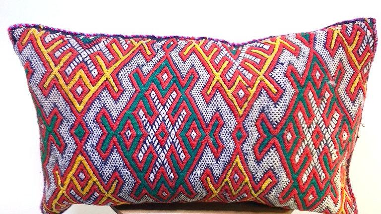 Moroccan Rug Pillow