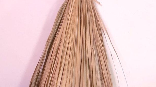 Moroccan Beldi Straw Broom