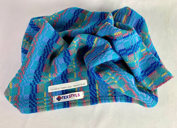 TW1064.07 | Towel | Peacock Blue II